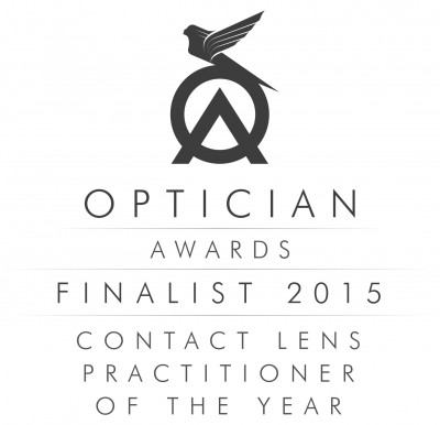 Optician Awards Finalist 2015 Logo - Contact Lens Practitioner of the Year jpeg