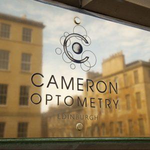 Cameron Optometry, Edinburgh. St Vincent Street