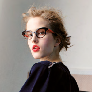 Anne et Valentin frames worn by female