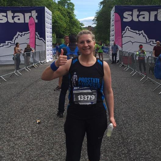 Practice manager Carol completes the Edinburgh Marathon (by accident!)