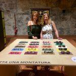 Lesley and Gill at FEB31st eyewear factory