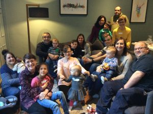 Children with congenital cataracts and their parents at Cameron Optometry in Edinburgh